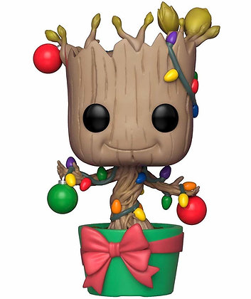 POP! Bobble n°399: Marvel: Holiday Groot Sapin de noël