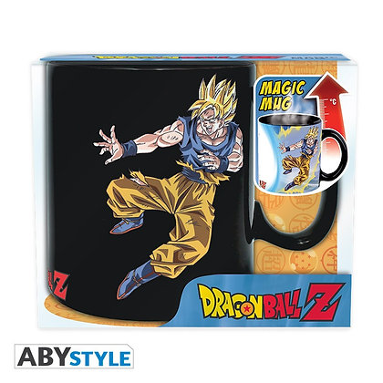 DRAGON BALL Z Mug thermo-réactif Goku VS Buu Grand contenant