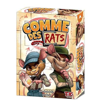 COMME DES RATS - Jeu de Plateau