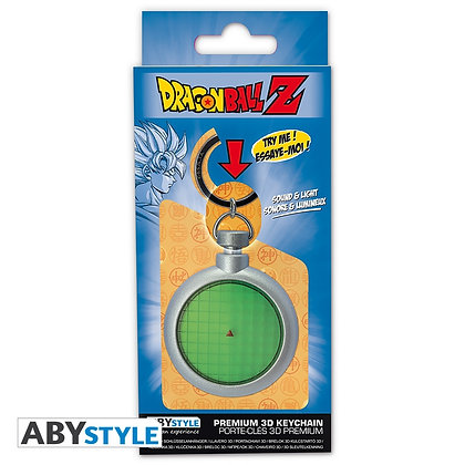 DRAGON BALL Z Porte-clés 3D premium Radar