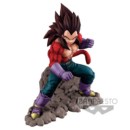 DRAGON BALL GT - Dokkan Battle - Figurine de Collection Super Saiyan 4 Vegeta