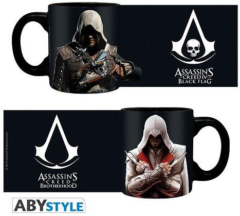 ASSASSIN'S CREED - Set 2 mugs à espresso - 110 ml - Ezio & Edward