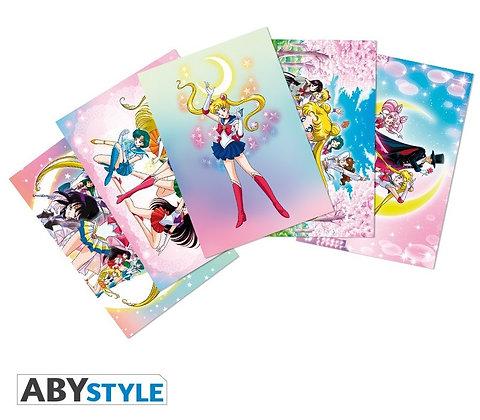 SAILOR MOON - Cartes postales - Set 1 (14.8x10.5)