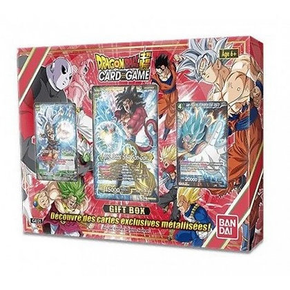 DRAGON BALL SUPER JCC - GIFT BOX 2018