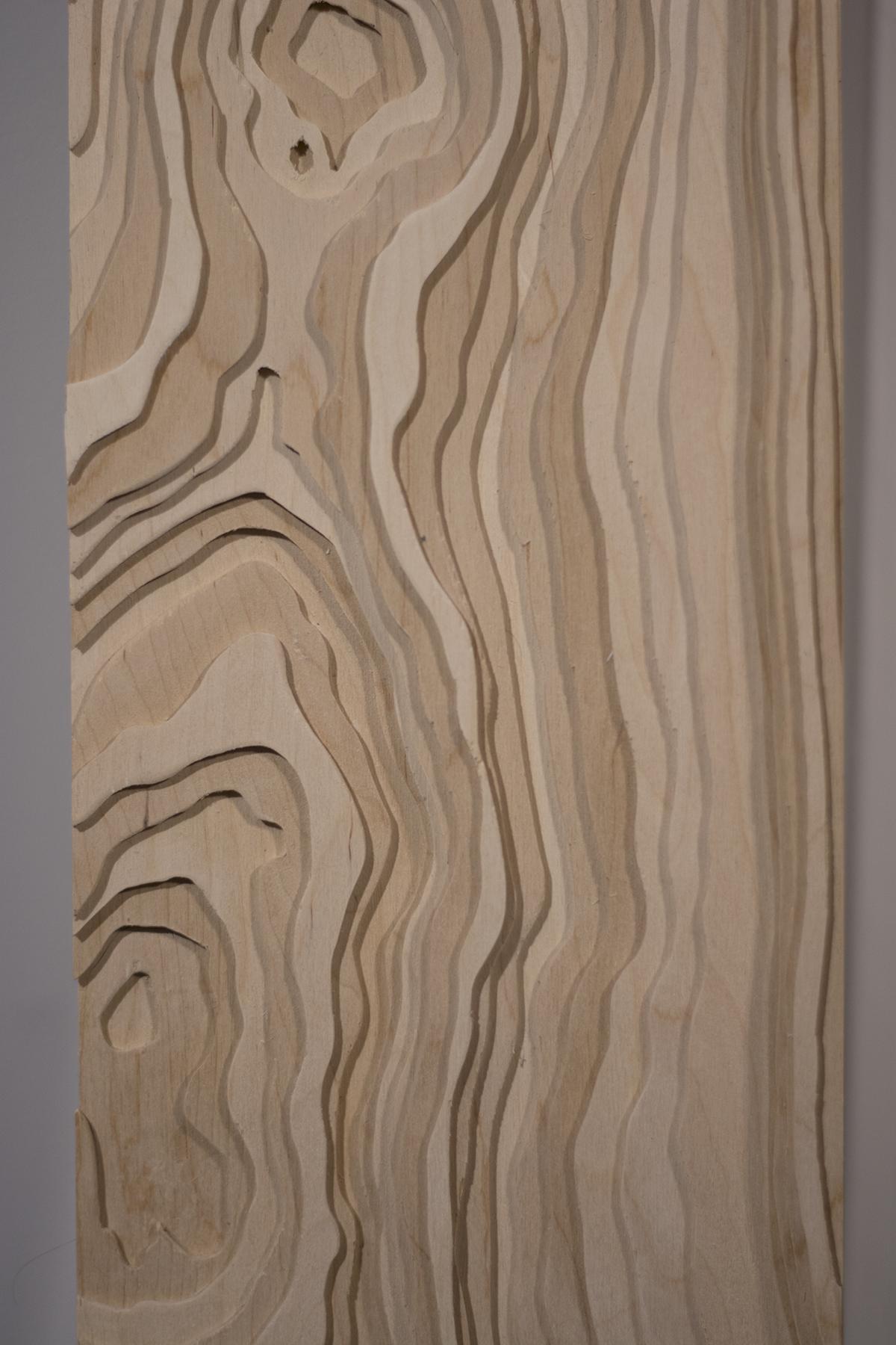 Le bois; la rivière
