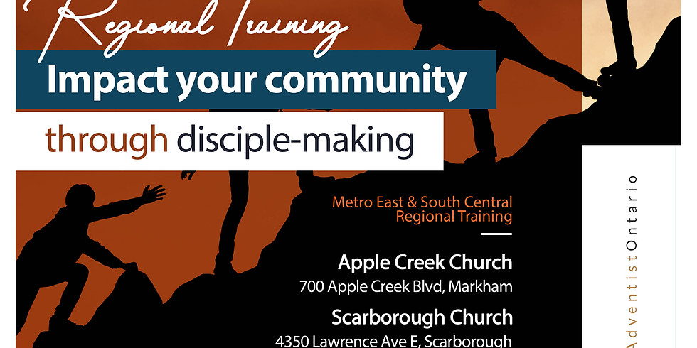 Metro East and Metro South Central Regional Training