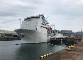 最先端のICT技術に着目し続けるのではなく、別の視点からICTを見る。海底ケーブル敷設船見学@長崎レポート