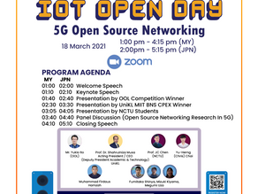 IoT Open Day 2021(学生国際交流会)