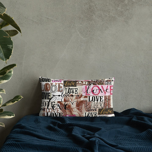 'Love' Basic Pillow
