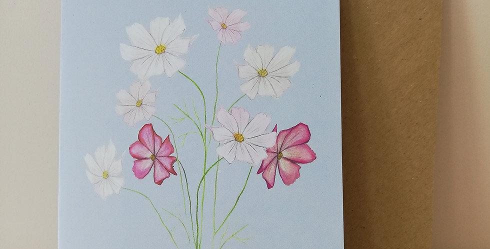 Tasmin Baxendale design- Flower Seed Card