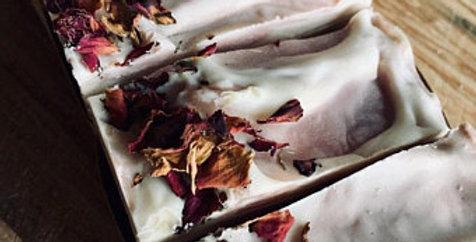 Body wash bar - sandlwood and rose