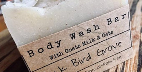Body wash bar - lavender, oat & Kanuka