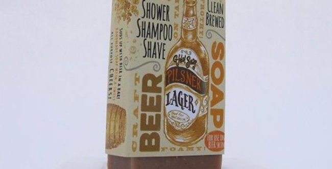 Pilsner Lager Beer Soap