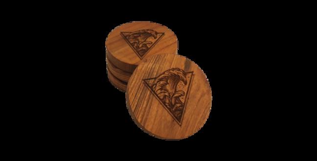Wooden coaster- Wave