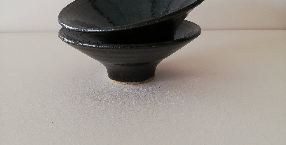 Black small dish