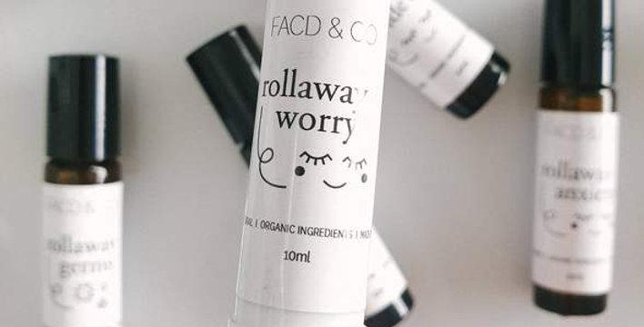 Rollaway Worry Inhaler
