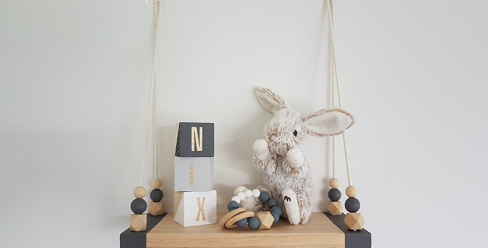 SWING SHELF - SMALL BLUE GREY
