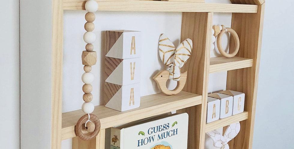 HOUSE SHELF- WHITE