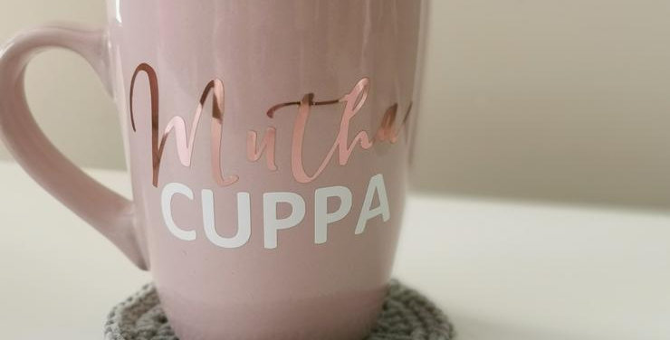 Script Blush Mutha Cuppa ®