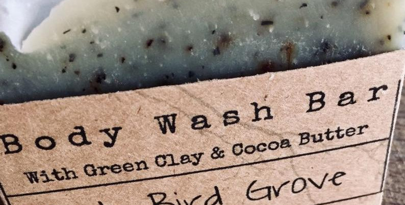 Body wash bar - peppermint and Lime
