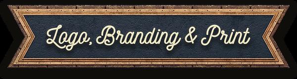 Logo, branding, print