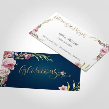 Glorious Business Card design