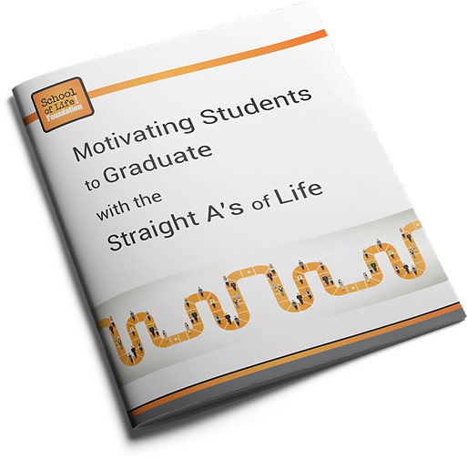 example of a standouthandout cover school of life