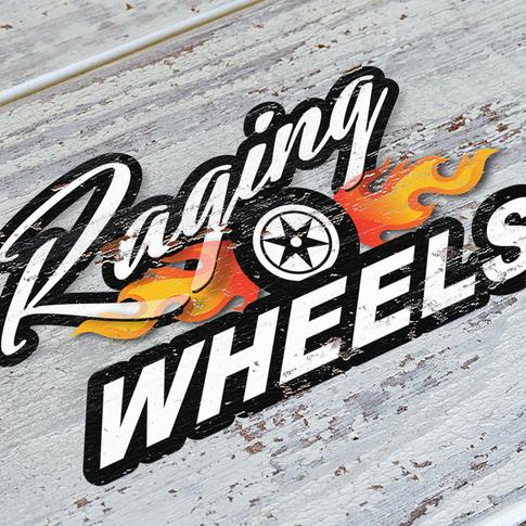 Raging Wheels logo