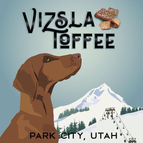vizsla-toffee-logo-reflections-design-je