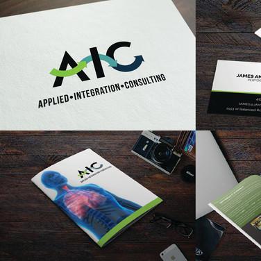AIC logo and branding