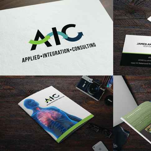 AIC logo and branding