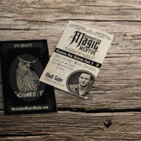 Magic Mentor business cards