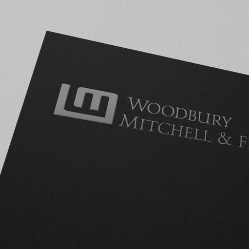 Woodbury Mitchell and Finch logo