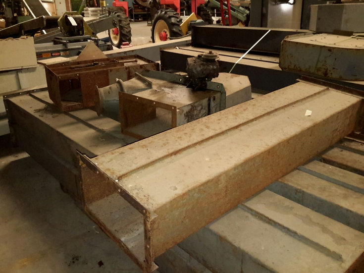 Incomplete Grain Leg with Trunking