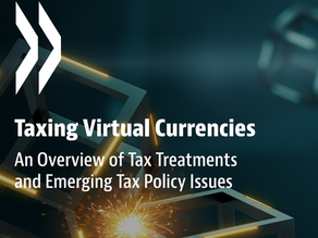 OECD publishes insights on tax policy issues of digital currencies