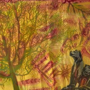 UN FOULARD, UNE HISTOIRE : Pierre et le Loup par Madeleine Vionnet