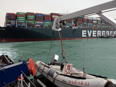 Moving Stranded Cargo Ship in Suez Canal Could 'Take Weeks', Salvage Company Said