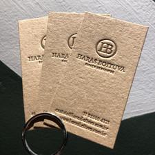 @harasboituva  impresso por Letterpress Brasil: @letterpressbr