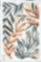 Aquarela no papel Chuí de Marcela Amaro