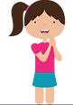 cute-little-girl-isolated-icon-vector-10