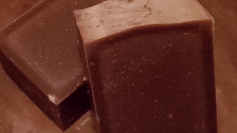 Oatmeal Caramel Pecan Goat's Milk w/ Honey Soap