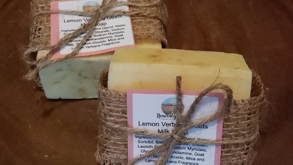 Goats Milk Soap- Lemon Verbena
