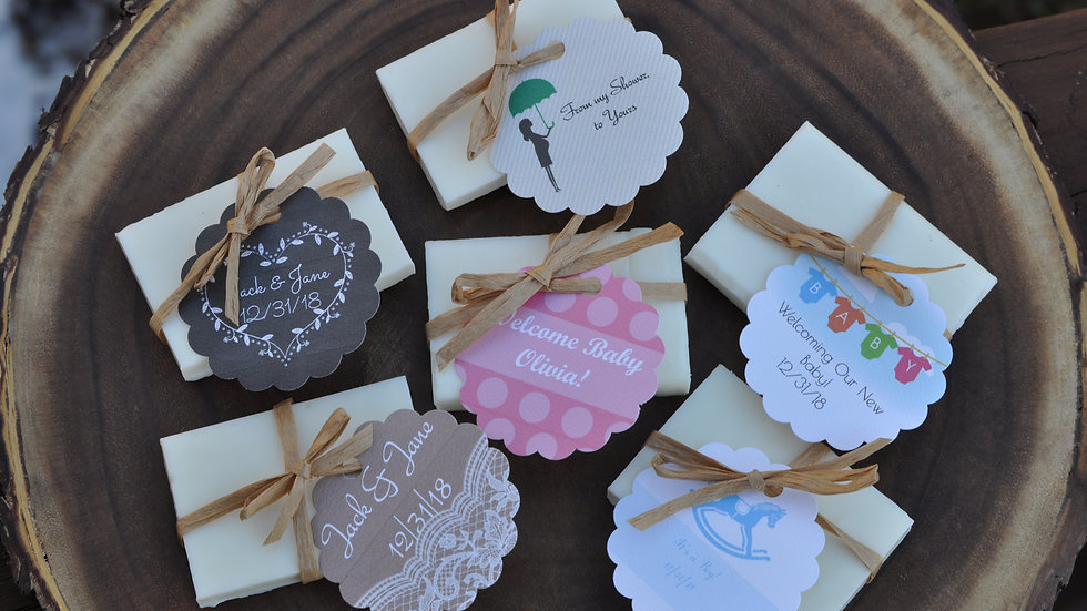 Personalized Soap Favors- Made to Order