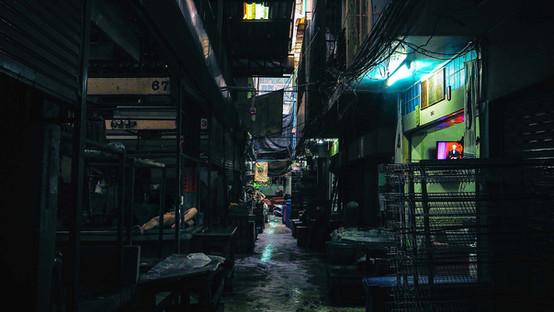 Mangoshake urban China town Bangkok Thailand