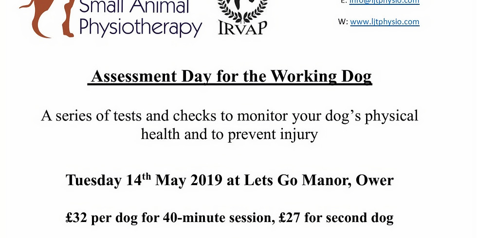 Assessment Day for the Working Dog