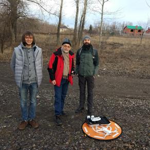 Исследование территории будущего парка на Татьянке/ Сухой Самарке