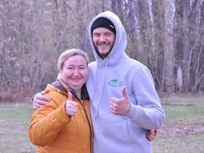 В «Самарских лесных садах» провели субботник