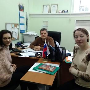 Встреча с представителем Спортивной школы олимпийского резерва №6