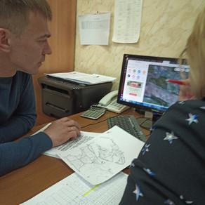 Встреча с главным лесничим Волжского района.
