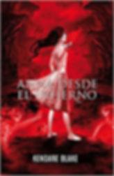 Portada de Anna desde el infierno, de Kendare Blake